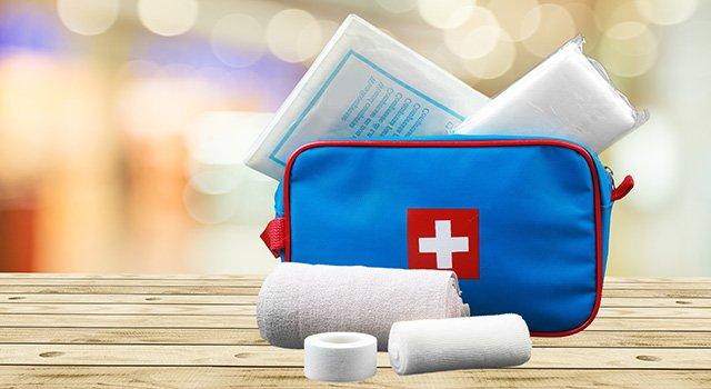 Zusammenstellen von Medikamenten für die Hausapotheke